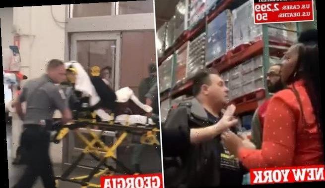 Fights break out at stores as coronavirus panic buying intensifies