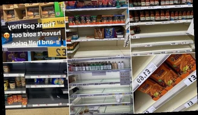 The unpopular foods panic buyers DON'T want