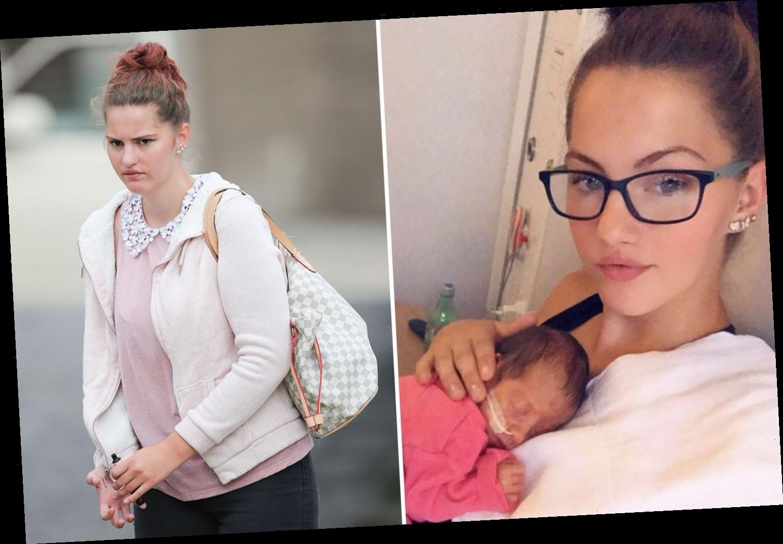 Mum, 21, 'threatened to throw her eight-week-old girl against a wall' before she died after broken ribs and brain bleed