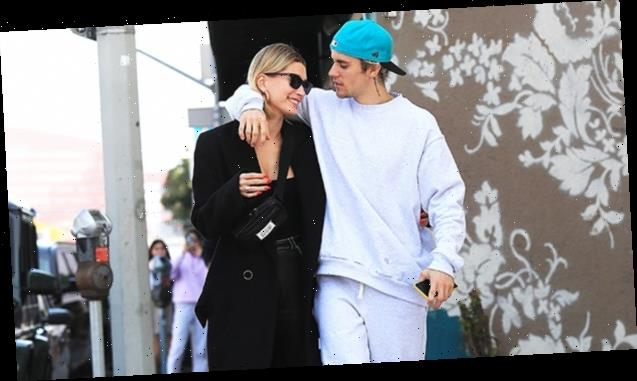 Justin Bieber & Hailey Baldwin Hold Hands & Makeout On The Street During Stroll — Pics