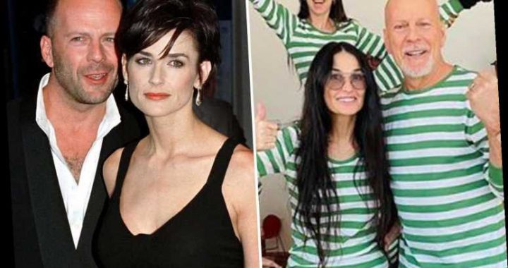 Bruce Willis and Demi Moore's daughter says 'weird' parents are isolating together after stepsister stabbed with needle – The Sun