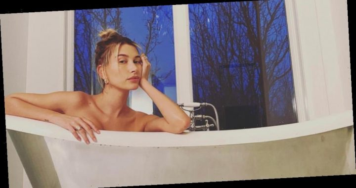 Justin Bieber Shares Photos He Took of Hailey in the Bathtub