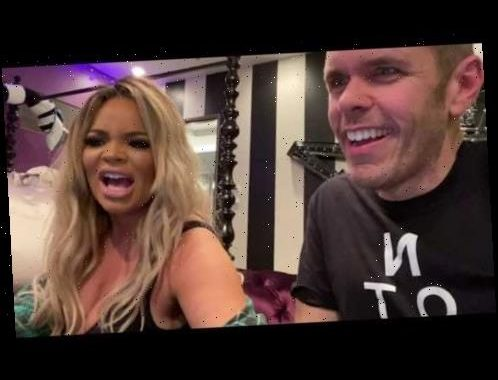Reacting To OnlyFans Videos And DRAMA – With Trisha Paytas! | Perez Hilton