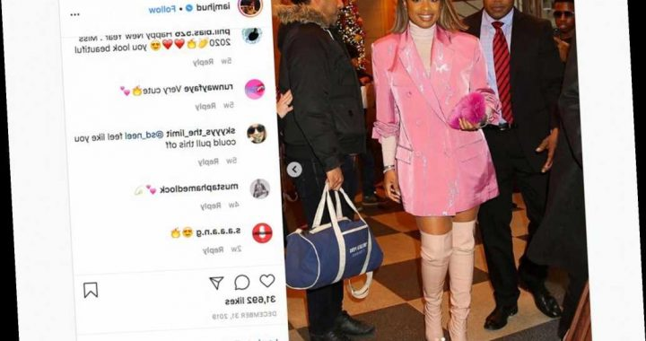 Jennifer Hudson sued by NYC photographer for allegedly stealing photo