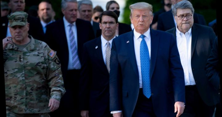 Gen Milley almost QUIT as chairman of the Joint Chiefs of Staff over church photo op as Trump dismisses regrets – The Sun