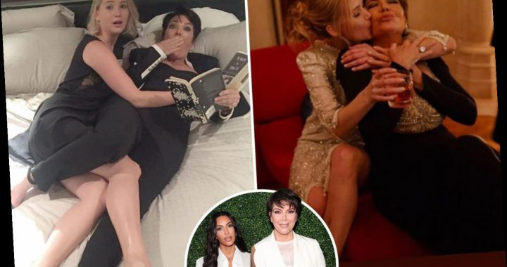 Kris Jenner snubs Kim Kardashian and her sisters by calling Jennifer Lawrence her 'favorite daughter' on 30th birthday