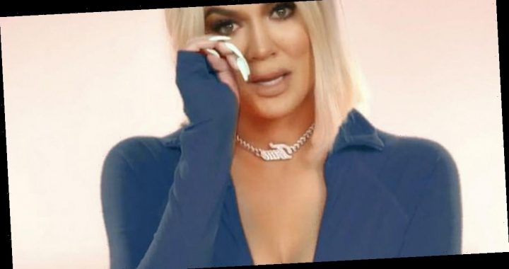 Emotional Khloe Kardashian 'hasn't stopped crying' since KUWTK ending announced