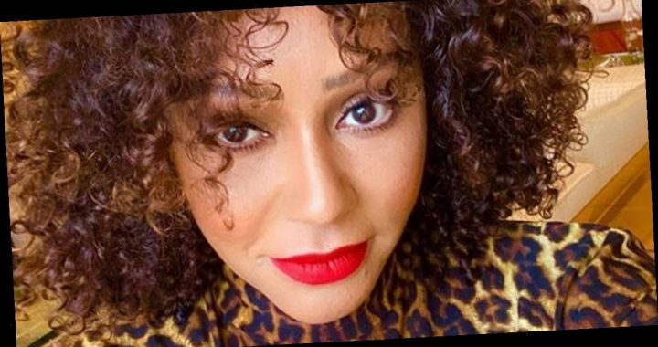 Mel B wows as she transforms back into Scary Spice in leopard print dress and announces she's 'back'