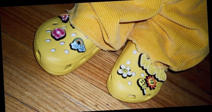 Crocs and Justin Bieber Are Teaming Up For a Line of Neon Yellow Clogs With Charms