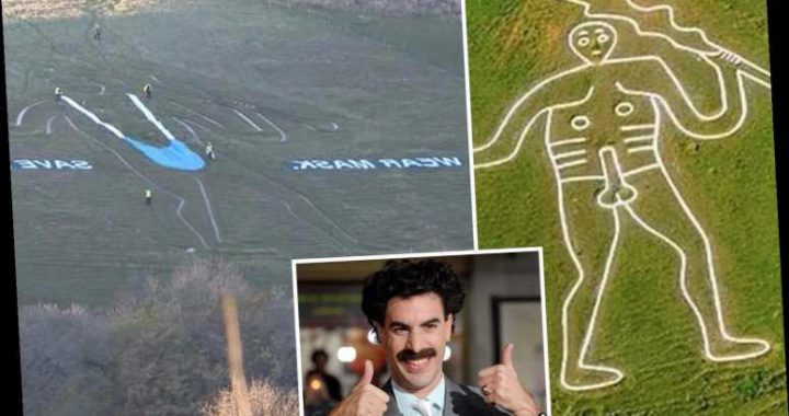 Borat 2 – 'Maskini'-clad character makes hilarious appearance on Brit landmarks ahead of film release