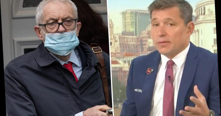 Ben Shephard issues apology for not wearing mask while paying for petrol after seeing Jeremy Corbyn's mask slip