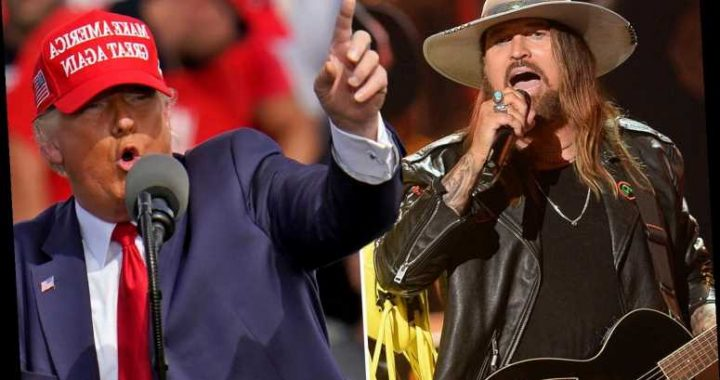 Is Miley Cyrus' dad Billy Ray a Trump supporter?