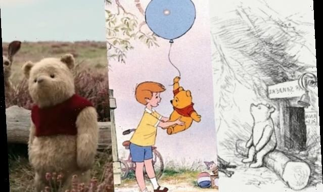 The Evolution of Winnie the Pooh, From A.A. Milne to 'Christopher Robin'