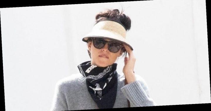 Dakota Johnson Enjoys Her Time in Spetses During Break From Filming!