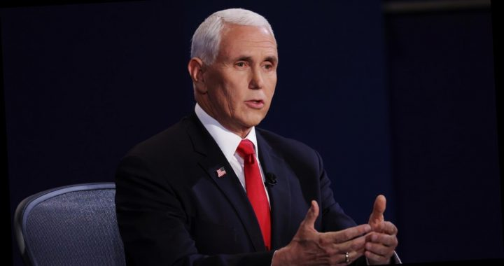 Why everyone is talking about Mike Pence's red eye at the VP debate