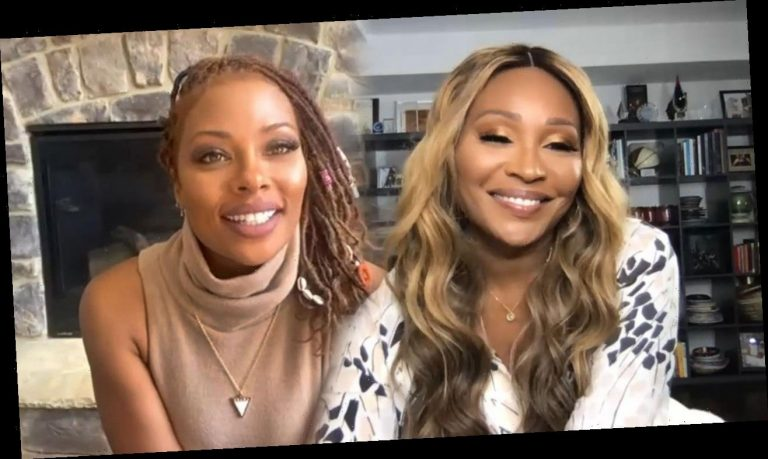 Eva Marcille turns Americas Next Top Flasher as she