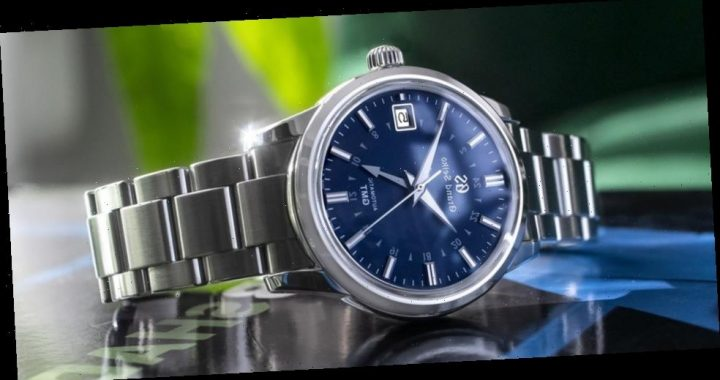"HODINKEE Joins Grand Seiko for a ""Yūgure"" GMT SBGM236 Watch"