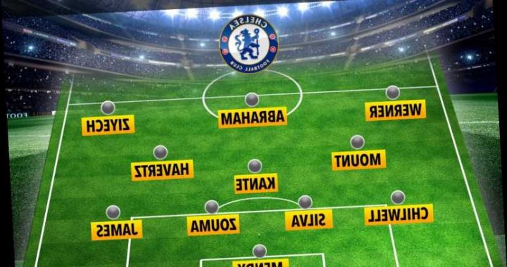 How Chelsea could line-up at Rennes with Thiago Silva and Kai Havertz returning but Christian Pulisic still out