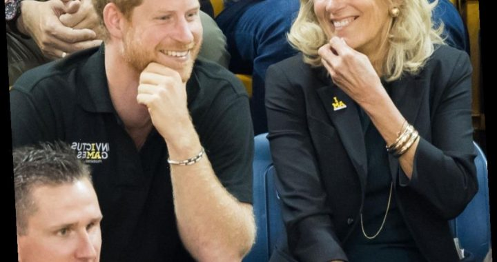 Prince Harry and Jill Biden's surprising friendship revealed – as Joe joked 'they spend so much time together'