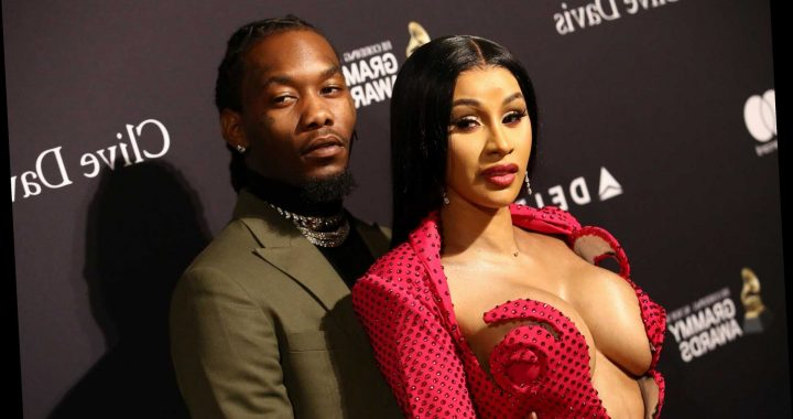 Cardi B and Offset hit multiple parties for Halloween in Atlanta