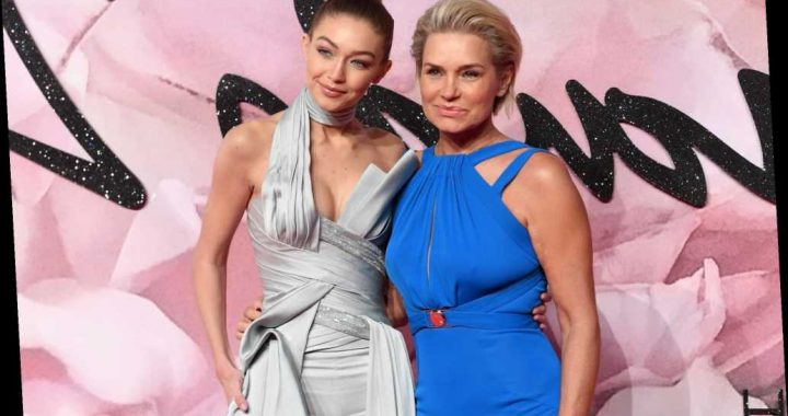 Yolanda Hadid Shared the Sweetest Mother-Daughter Photo of Gigi and Her Baby Girl