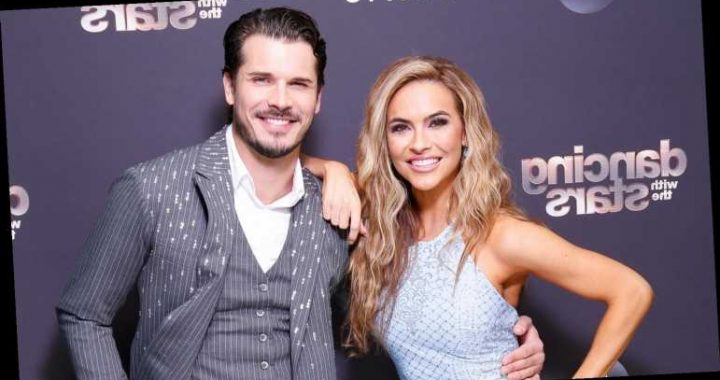 Chrishell Stause Reunites with Partner Gleb Savchenko at 'DWTS' Season Finale!