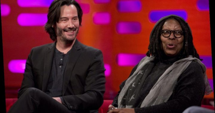 Whoopi Goldberg Once Made Keanu Reeves Very Uncomfortable With This Graphic Story About Her Pubic Hair