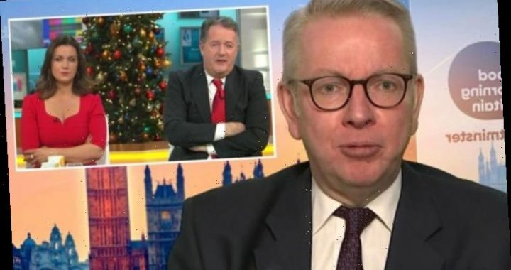 Michael Gove interview branded a 'disaster' as he argues with Piers over Scotch eggs