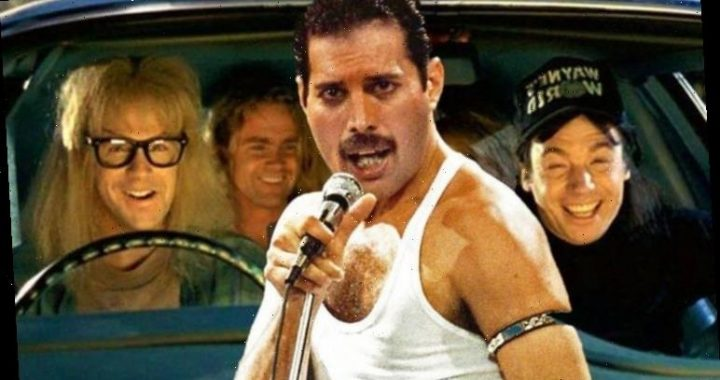 Freddie Mercury saw Wayne's World just before he died says Brian May 'He LAUGHED so much'