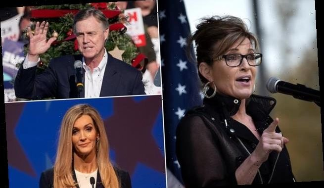 Sarah Palin GOP campaign and urges Republicans to crush Georgia vote