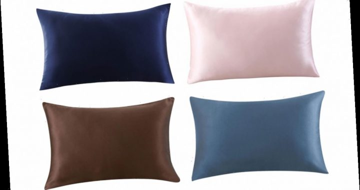 This Best-Selling Silk Pillowcase Has Nearly 12,000 Perfect Ratings on Amazon — and It's Less Than $25 Today