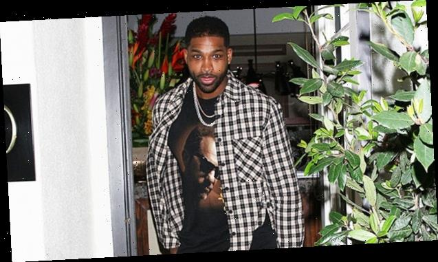 Tristan Thompson Spotted On Dinner Date With Mystery Blonde After Moving To Boston — See Pics
