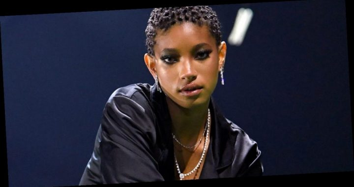 Willow Smith says the very 1st time she ever wore lingerie was in Rihanna's Fenty x Savage show this year