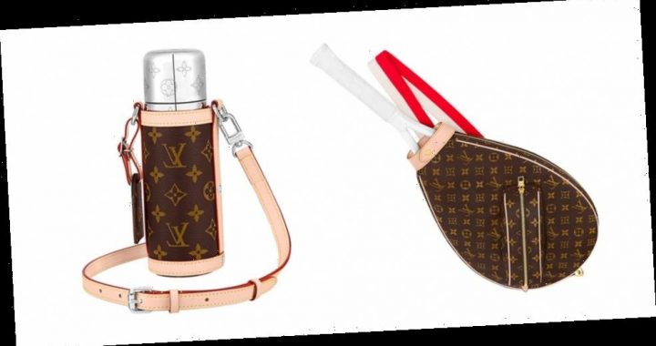 Louis Vuitton Releases Monogram Tennis Racket Cover, Yoga Mat and Thermos Holder