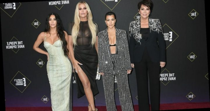 Kardashian-Jenners Go Glam for Christmas With 'Just the Family'