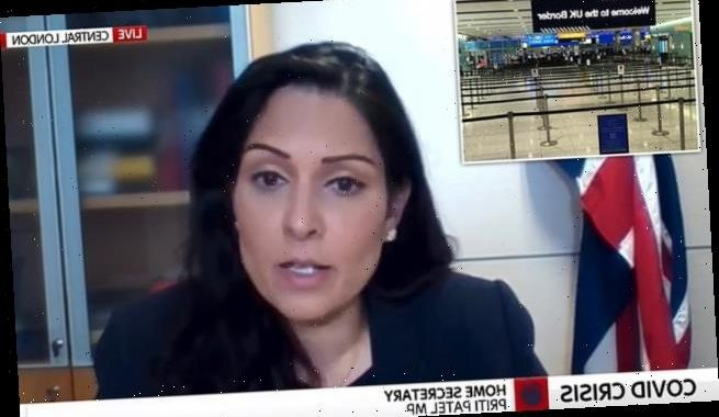 Priti Patel refuses to rule out blanket ban on non-essential travel