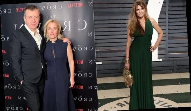 Gillian Anderson 'bemused' by speed of ex's new romance with Jemima