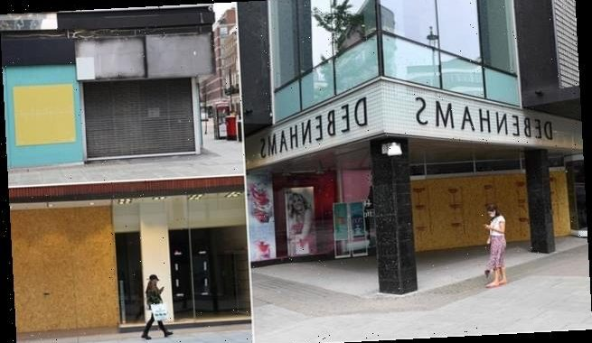 FIFTH of Oxford Street shops now boarded up with 'no hope of recovery'