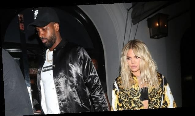 Khloe Kardashian Returns From Girls' Trip To Find Sweet 'Welcome Home' Surprise From Tristan Thompson