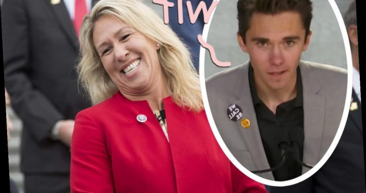 David Hogg SCHOOLS Rep. Marjorie Taylor Greene After Old Video Shows Her HARASSING The Parkland Survivor