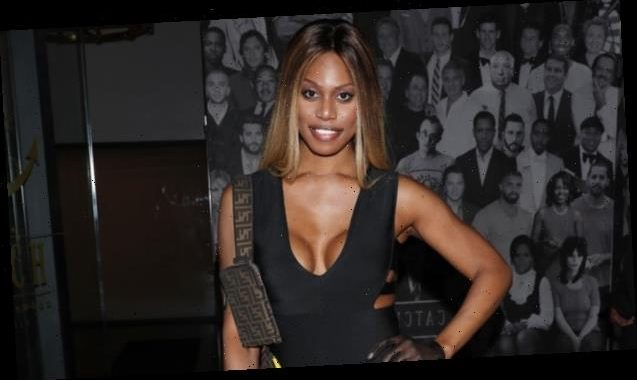 Laverne Cox Looks Gorgeous In A String Bikini & Stilettos As She Shares 'Private' Video For The First Time