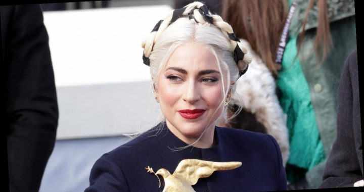 Lady Gaga Wore a Second-Day Hairstyle to the Inauguration