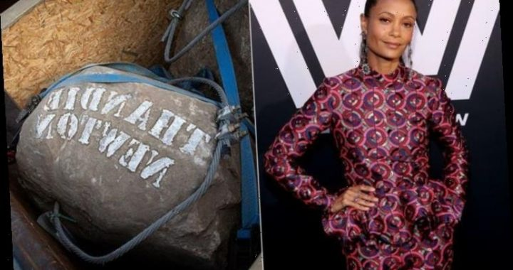 Thandie Newton adds name to boulder barrier foiling Channel trawlers