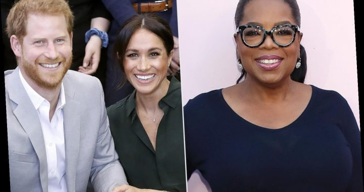 Oprah Announces First Sit-Down Interview with Meghan Markle and Prince Harry Since Their Engagement