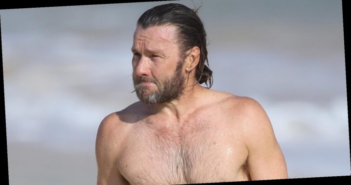 Joel Edgerton Shows Fit Shirtless Body While at the Beach in Sydney