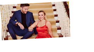 Celebs Go Dating's Kimberly Hart-Simpson and Shane Finlayson open up about their blossoming relationship
