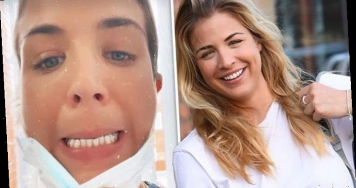 Gemma Atkinson, 36, warned over potential 'discomfort' as Strictly star unveils braces