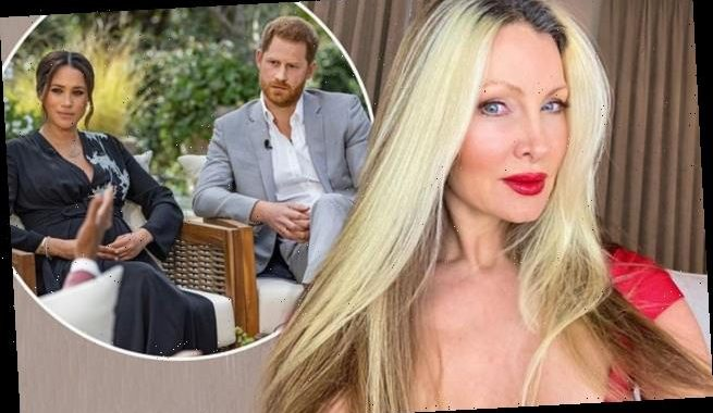 Caprice accuses Harry and Meghan of 'playing the victim'
