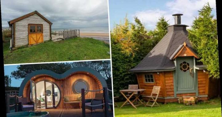 The most lusted after Airbnb homes by Brits – including seaside cabins and luxury huts with hot tubs