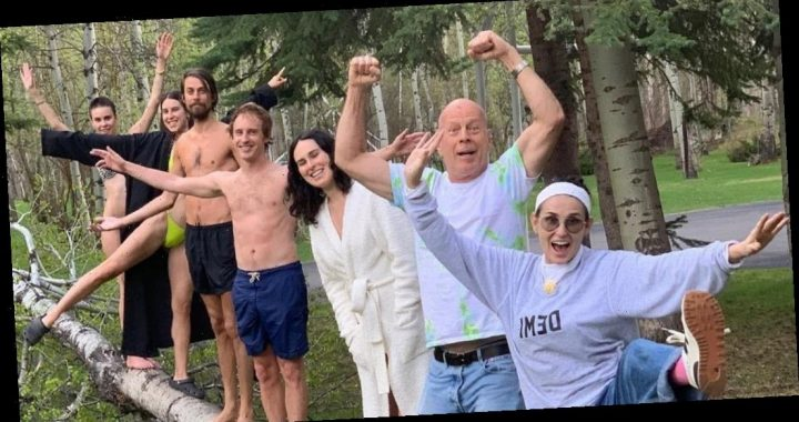 Demi Moore Celebrates 'One of a Kind' Bruce Willis for His Birthday
